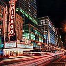 Chicago Theatre by Eddie Yerkish