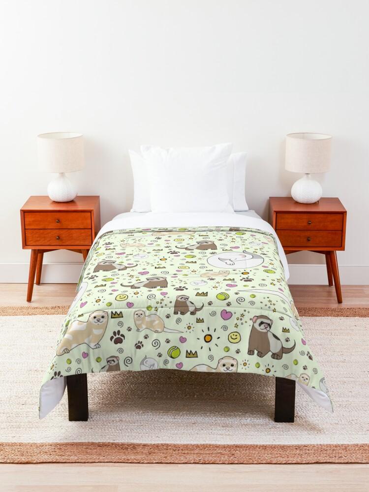 Alternate view of Ferret Magic Comforter
