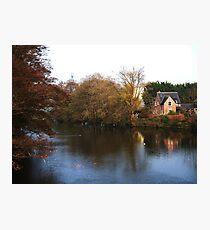 Riverside Cottage Photographic Print
