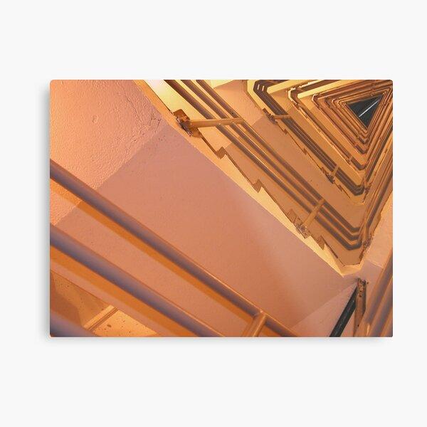 Stairing Metal Print
