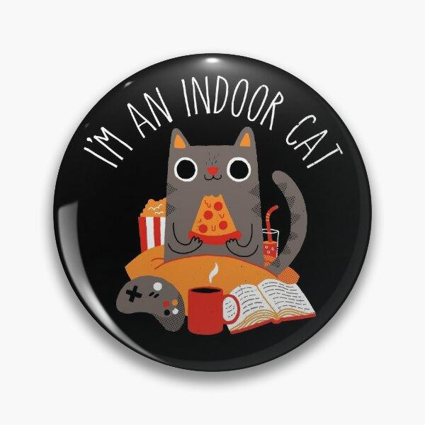 Indoor Cat Pin