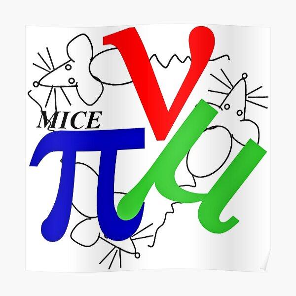 MICE Logo Poster
