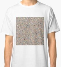 Mocha coffee polka dot Classic T-Shirt