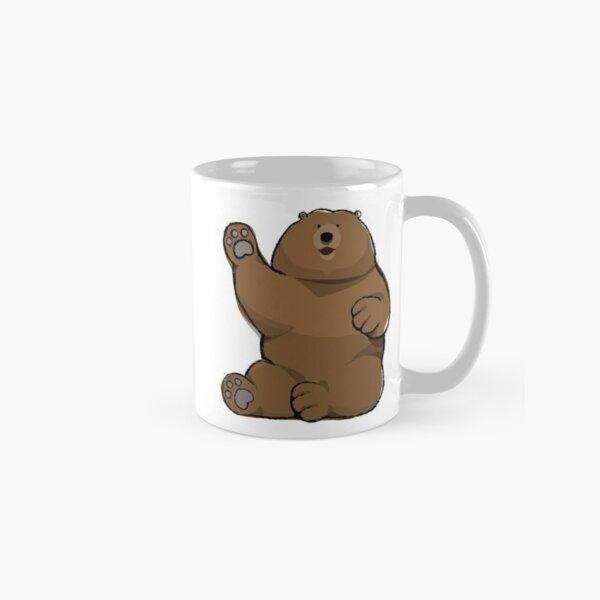 Waving Bear Classic Mug