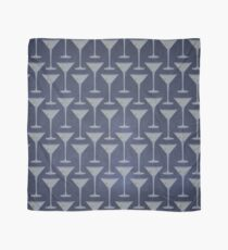 Blue Martinis Pattern Tuch