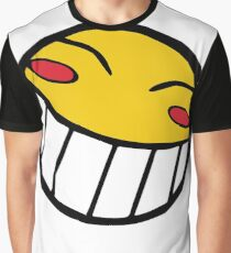 Cowboy Bebop Radical Ed Smiley Face Graphic T-Shirt