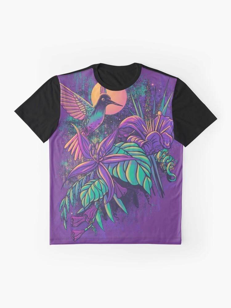 Alternate view of Purple Garden Graphic T-Shirt
