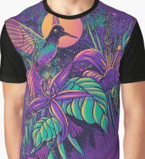 Purple Garden Graphic T-Shirt