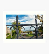 Gated View Art Print