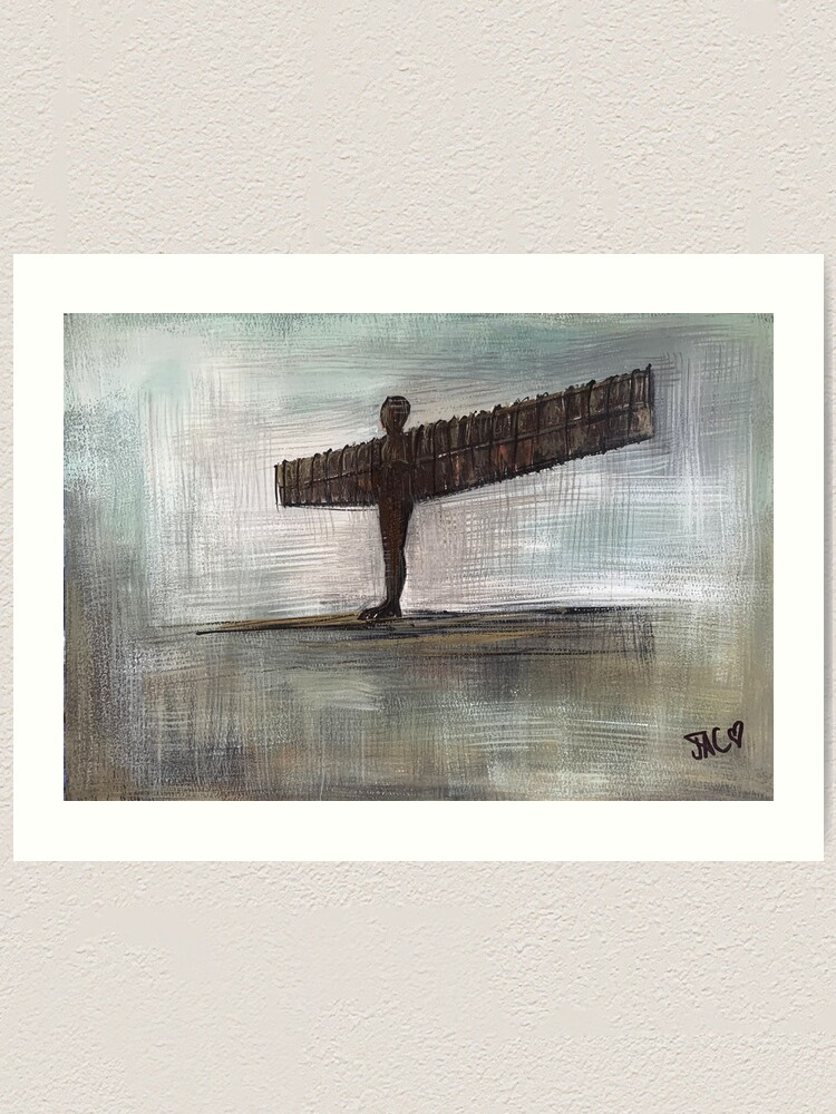 Alternate view of Angel of the North Art Print