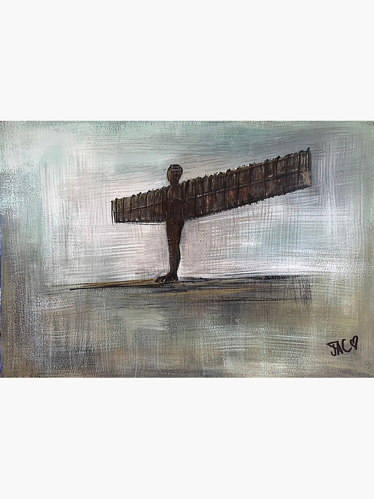 Angel of the North by Julieconnorart