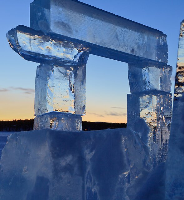 Ice frame by Colin Bester