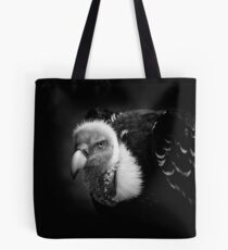 Rueppell's Vulture: After a shower (black version) Tote Bag