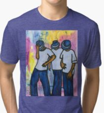 Let's STEP, My Brothas Tri-blend T-Shirt