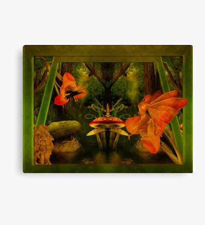 Nature's Things Canvas Print
