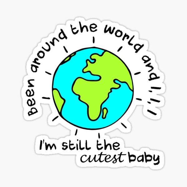 Cutest baby art Sticker