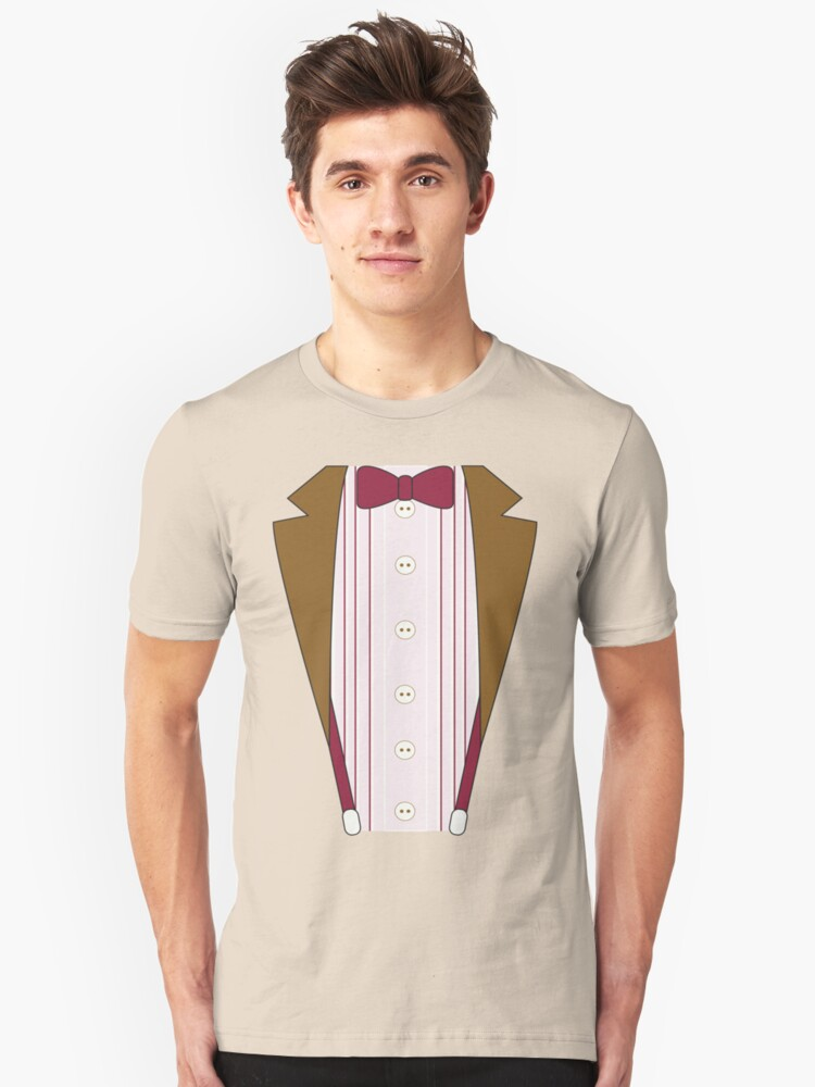 11th Doctor Outfit Unisex T-Shirt Front