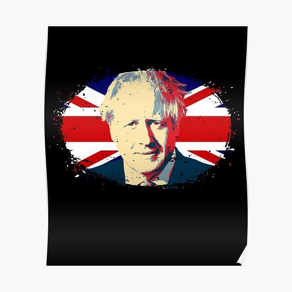 "**UK SELLER** Boris Johnson Superman Conservative 23/"" x 23/"" Glossy Poster"