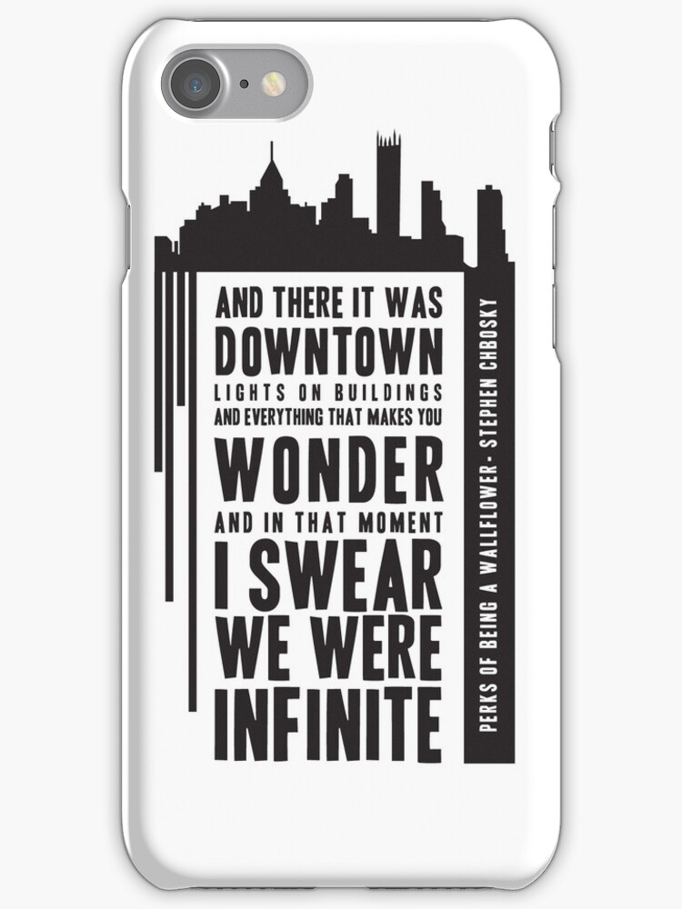 Infinite iPhone Case by amberdoesdesign