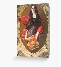 St. Catherine Unleashed  (2 for 1) Greeting Card