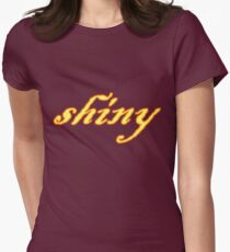 Shiny Women's Fitted T-Shirt