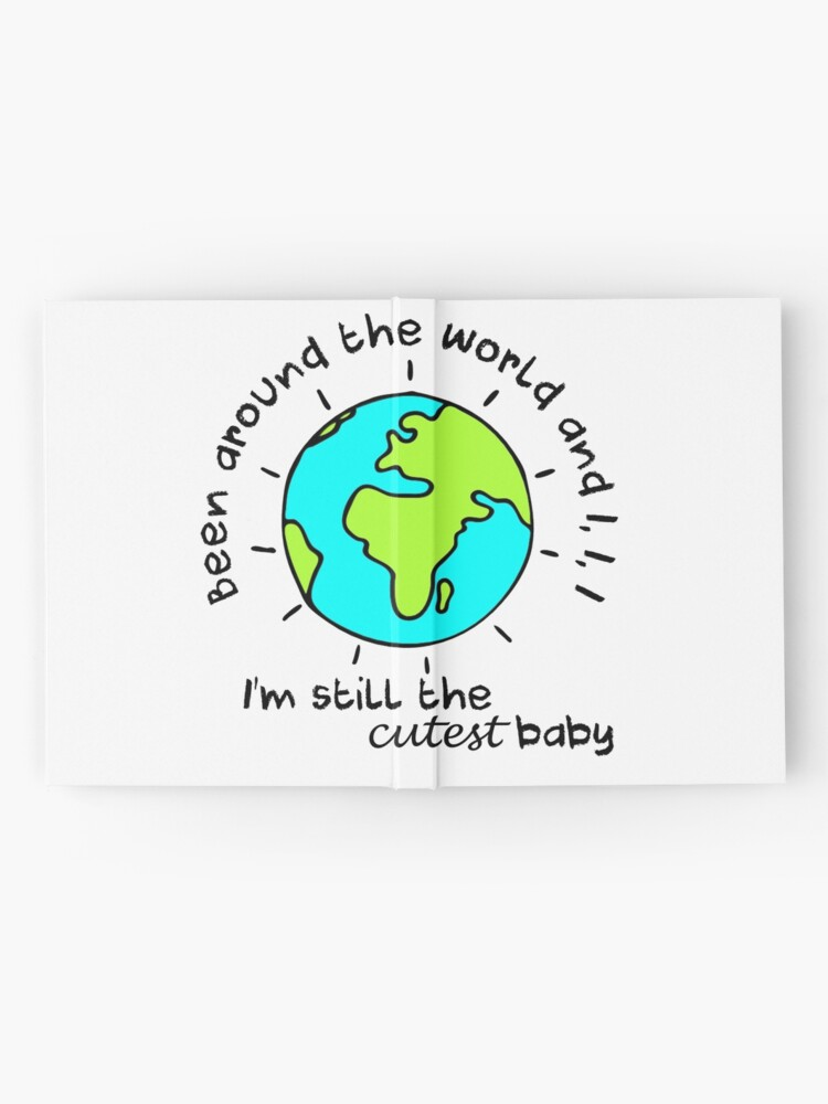 Alternate view of Cutest baby art Hardcover Journal
