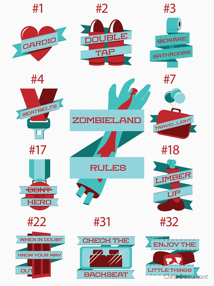 Rules of Zombieland | Unisex T-Shirt