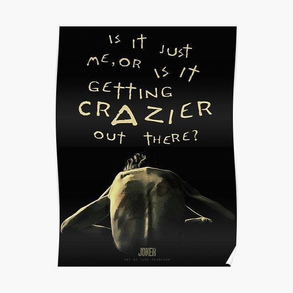 Joker 2019 Movie Poster Poster