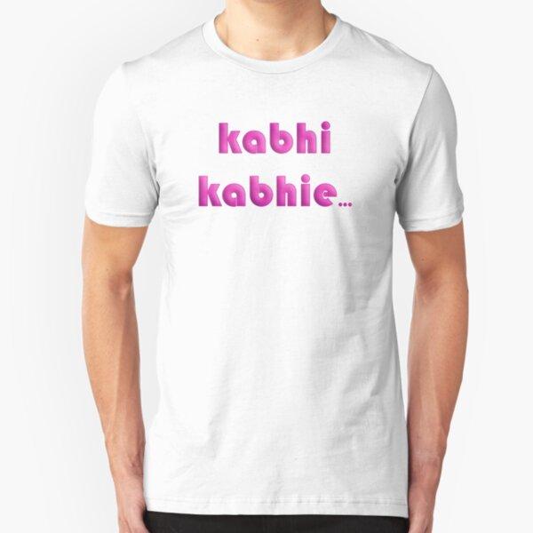 Kabhi Kabhie Slim Fit T-Shirt