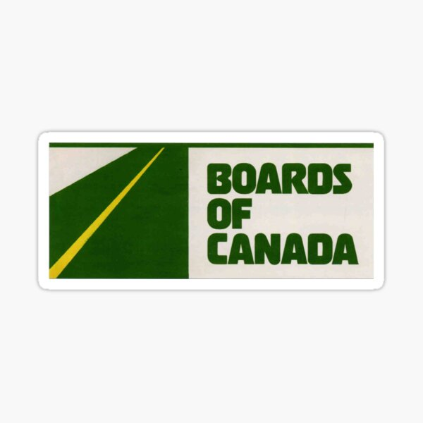 Boards Of Canada Sticker Sticker