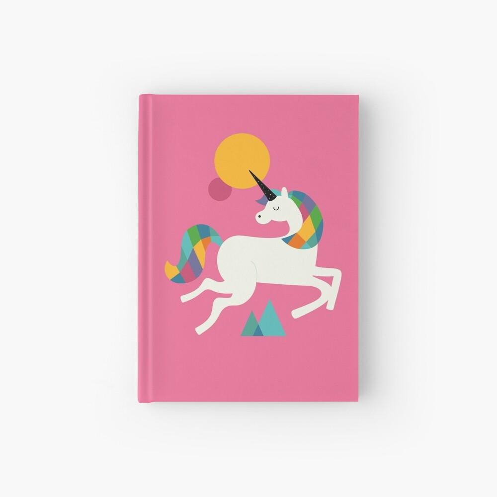 To be a unicorn Hardcover Journal