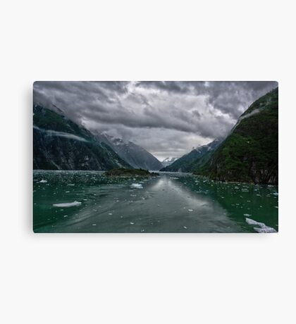 Glacial Approach Canvas Print