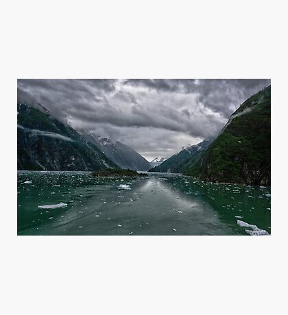 Glacial Approach Photographic Print