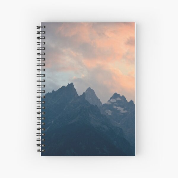 Grand Teton National Park Spiral Notebook