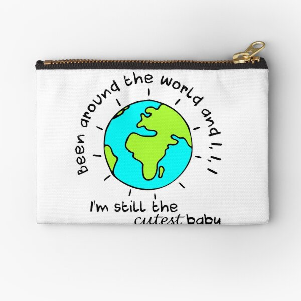 Cutest baby art Zipper Pouch