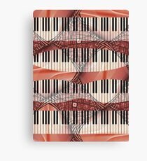 Piano - Keyboard - Musical Instruments Canvas Print