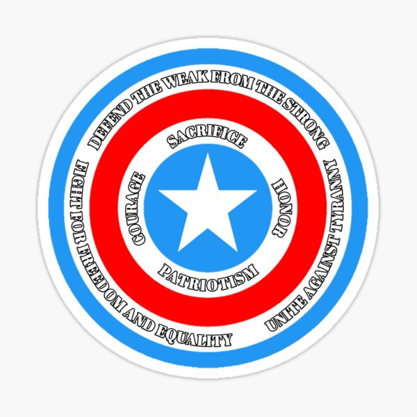 Shield Sticker