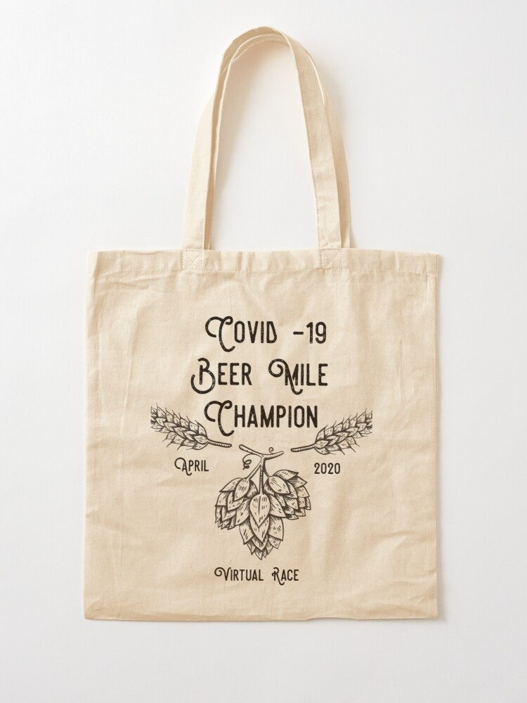 Alternate view of Beer Mile Champion Tote Bag