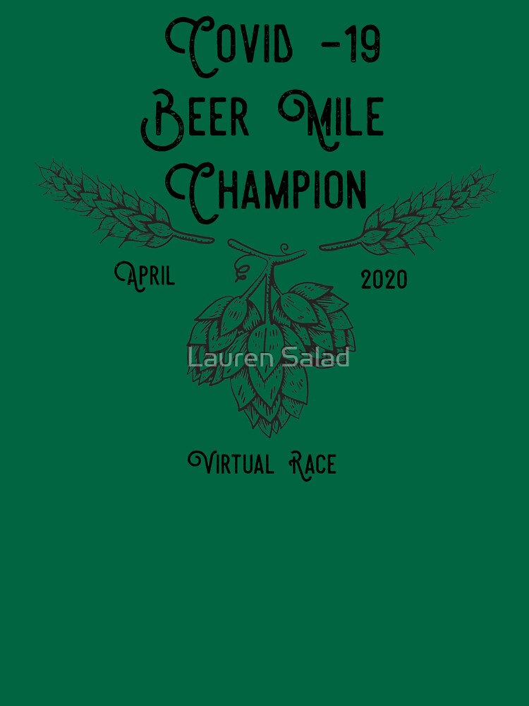 Beer Mile Champion by LaurenRunsHere