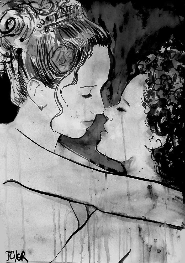 kiss me by Loui  Jover