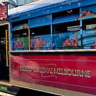 Melbourne Christmas Tram by Judi Corrigan