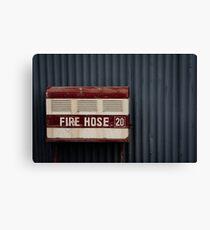 Fire Hose 20 Canvas Print