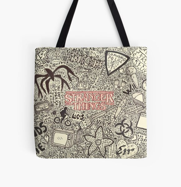 hey stranger All Over Print Tote Bag