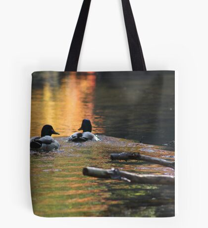 The Leading Ducks Tote Bag