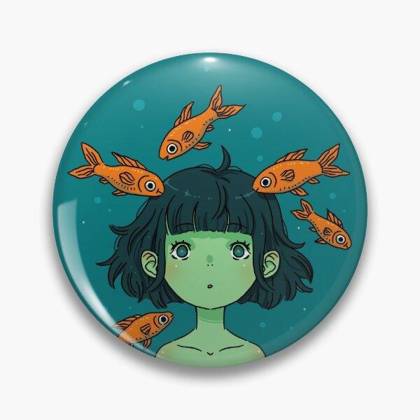 Orange fishes Pin