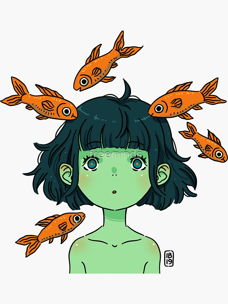 Orange fishes by freeminds