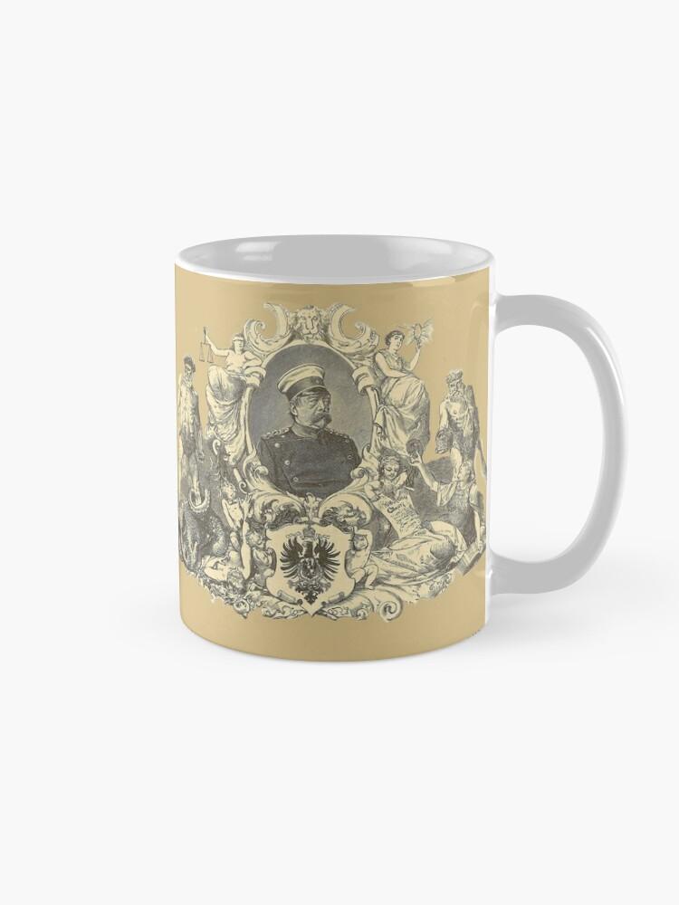 Alternate view of Bismarck, Architect of German Unification Mug