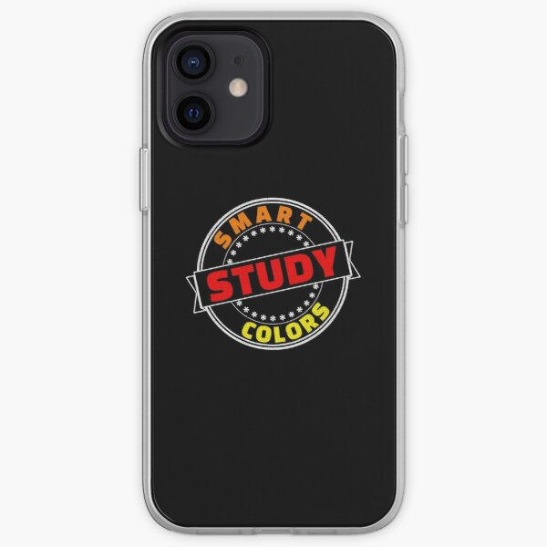 Smart Study Colors Red Orange Yellow iPhone Soft Case