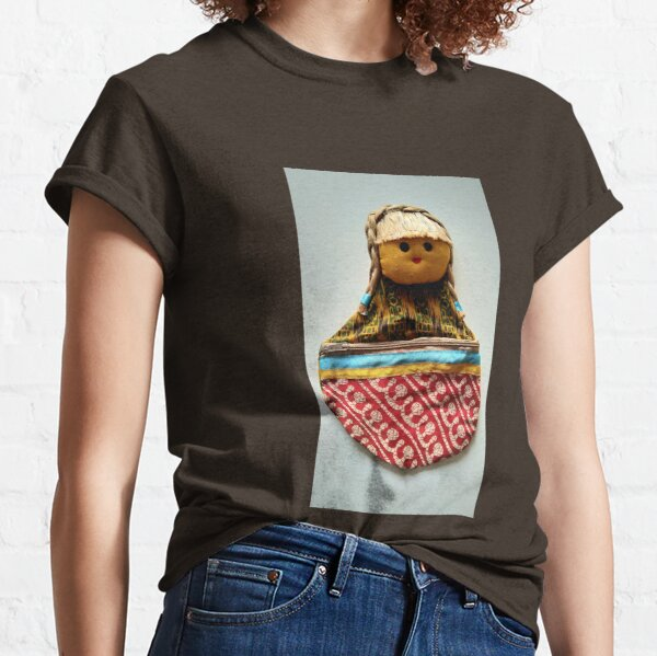 Doll Handicraft Unique Design For REDBUBBLE Classic T-Shirt