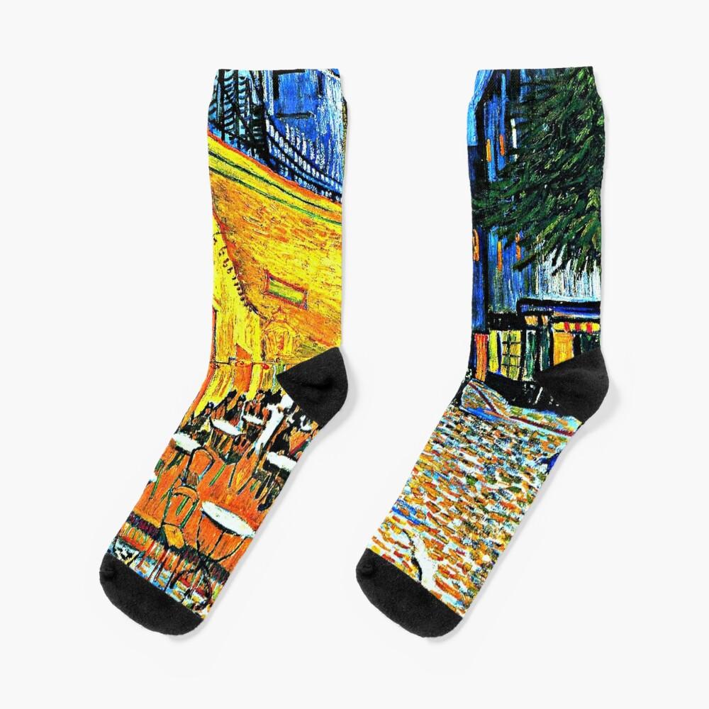Van Gogh - Cafe Terrace, Place du Forum, Arles Socks